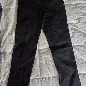 Calvin Klein stretch compression black leggings